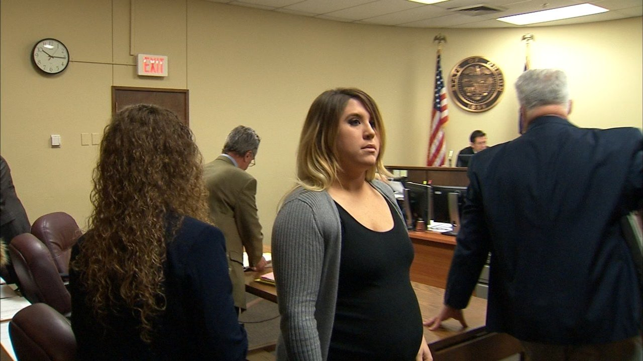 Terra Brandenburg in court Tuesday. (KPTV)