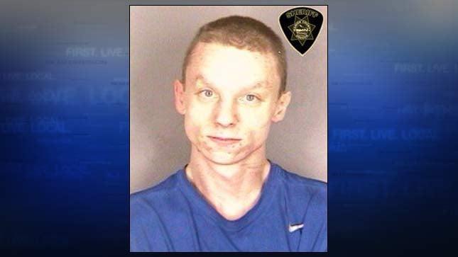 Robert White, jail booking photo