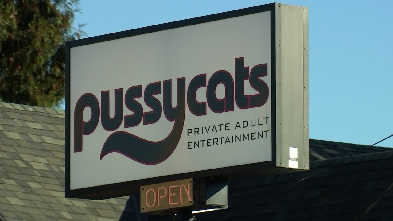Two locations of Pussycats, an adult entertainment business in Portland, have been robbed this week. (KPTV)
