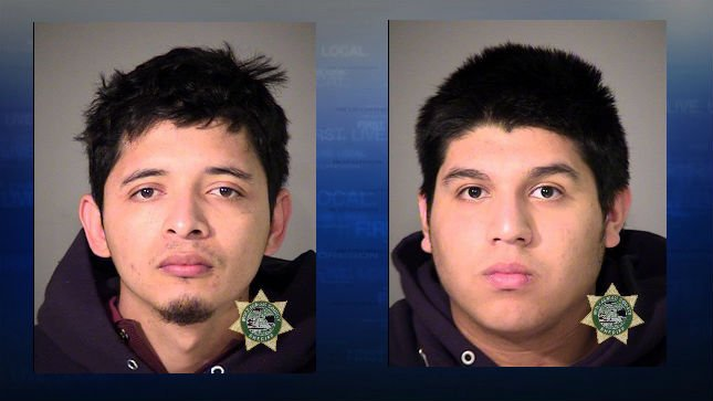 Oswald Reyes, Jose Lara, jail booking photos