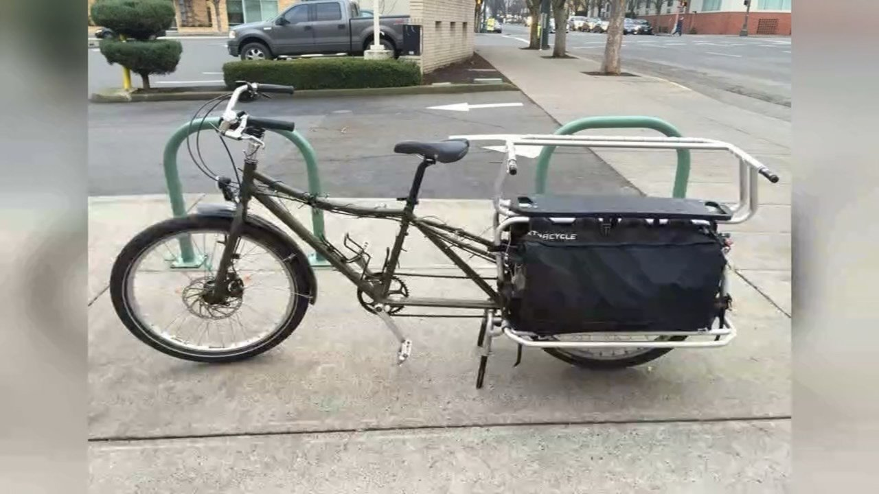 Stolen bike (KPTV)