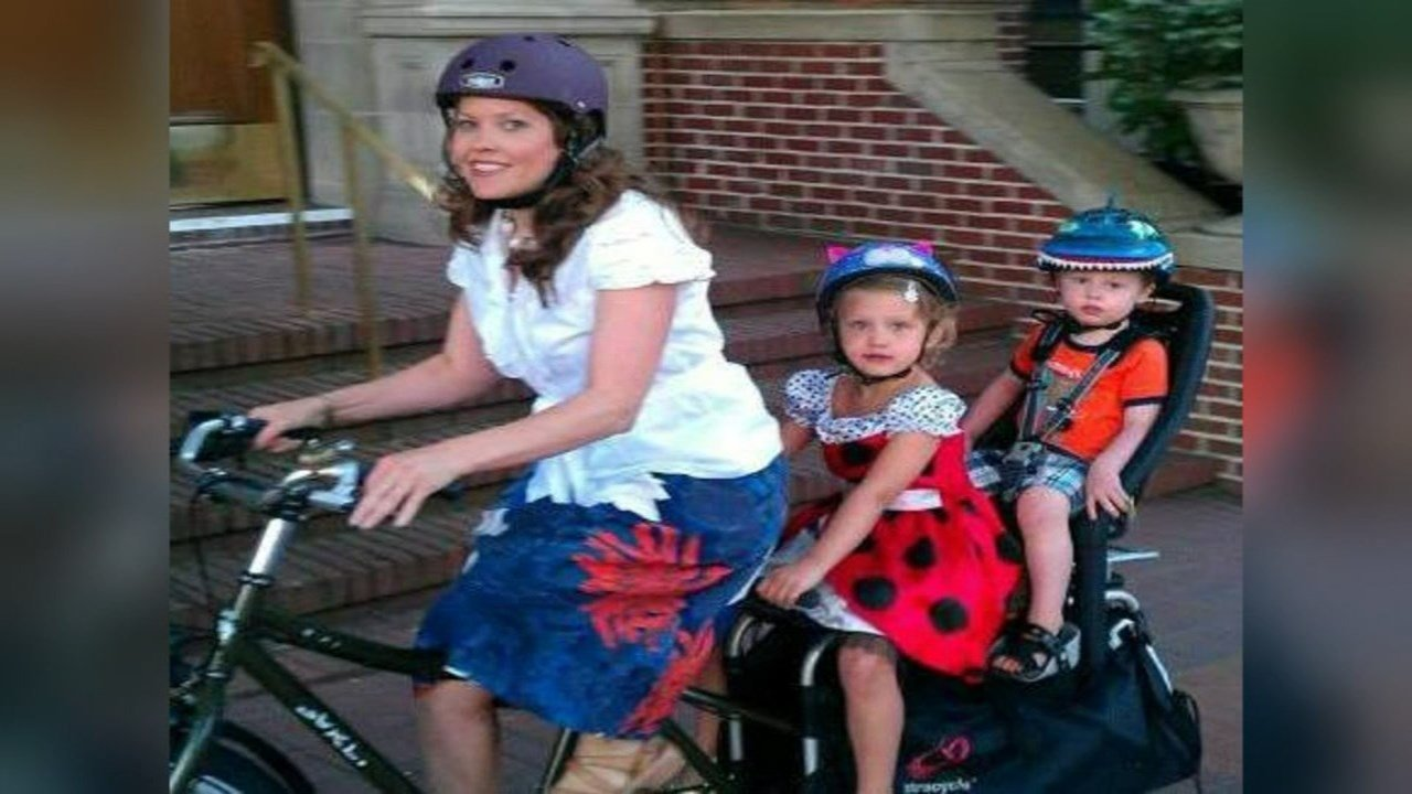 Ginger Hanson uses a bike as her family's primary mode of transportation. Her bike was stolen from Kaiser Permanente in north Portland. (KPTV)