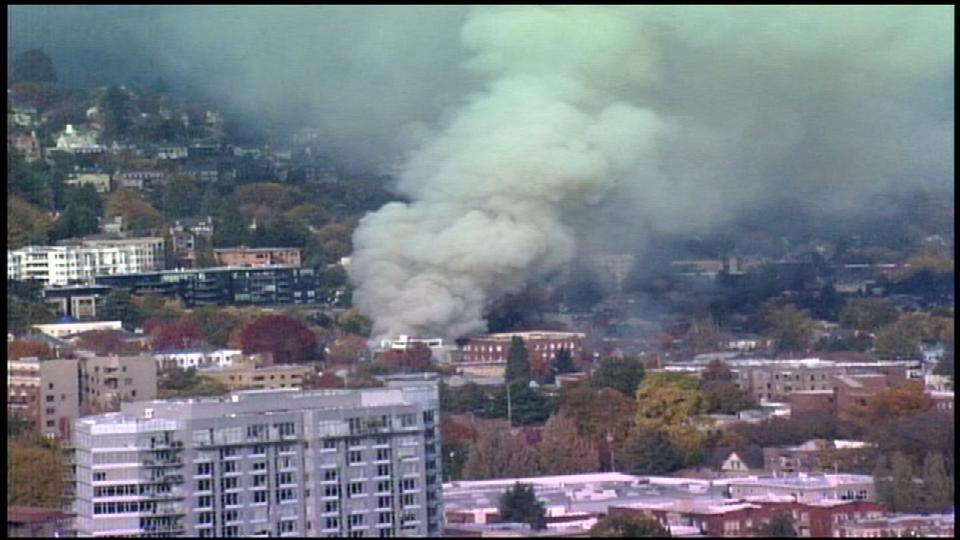 Man recalls gas explosion in Portland, Oregon