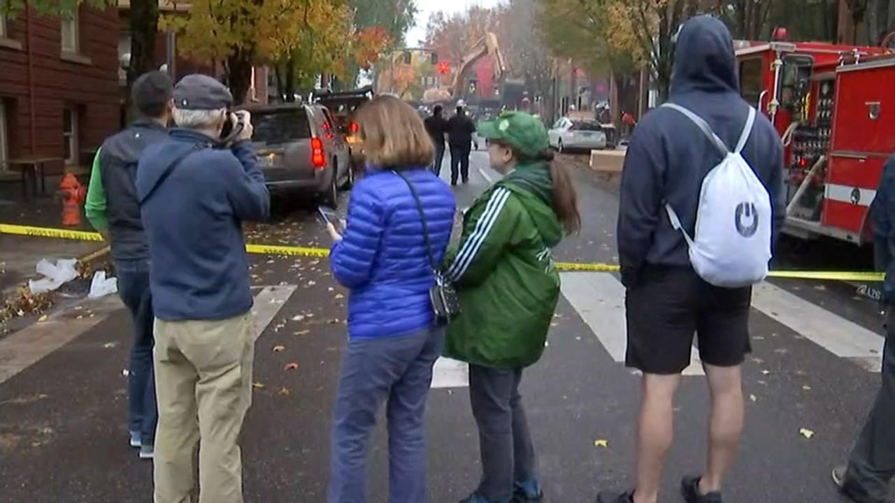 Injured in Portland Gas Explosion