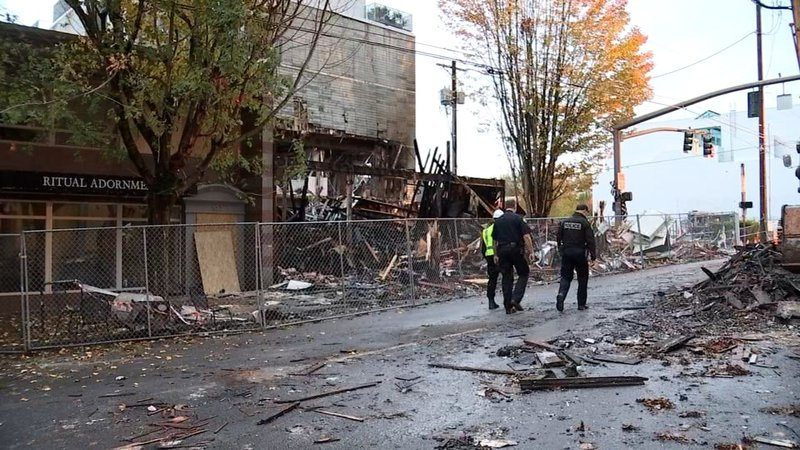 Portland Natural Gas Explosion