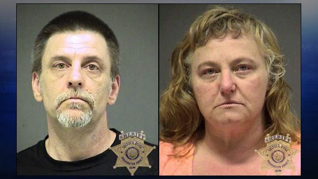 Darren Durham and Dawnyle Kaestner, jail booking photos