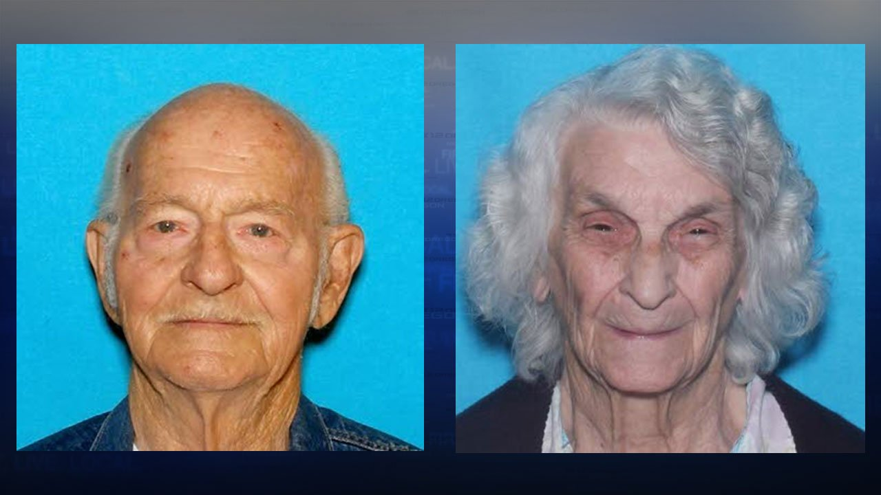 Luther and Elizabeth Glaze (Yamhill Co. Sheriff's Office)