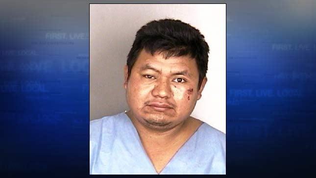 Miguel Reyes-Reyes, jail booking photo