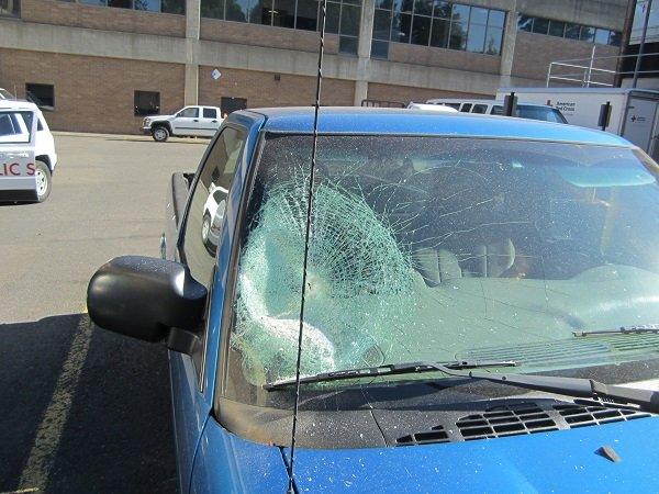 Vandalism at Mt. Hood Community College. (Gresham PD)