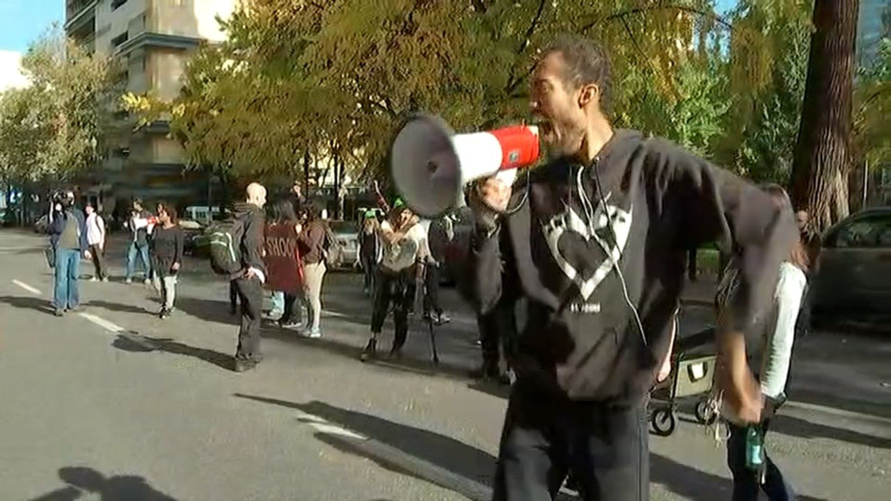 Don't Shoot Portland protest Friday. (KPTV)