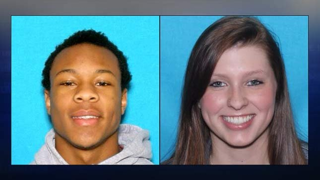 Saadiq Tajari Calhoun and Emma Morgan Ogden. (Photos: Portland Police Bureau, Crime Stoppers of Oregon)