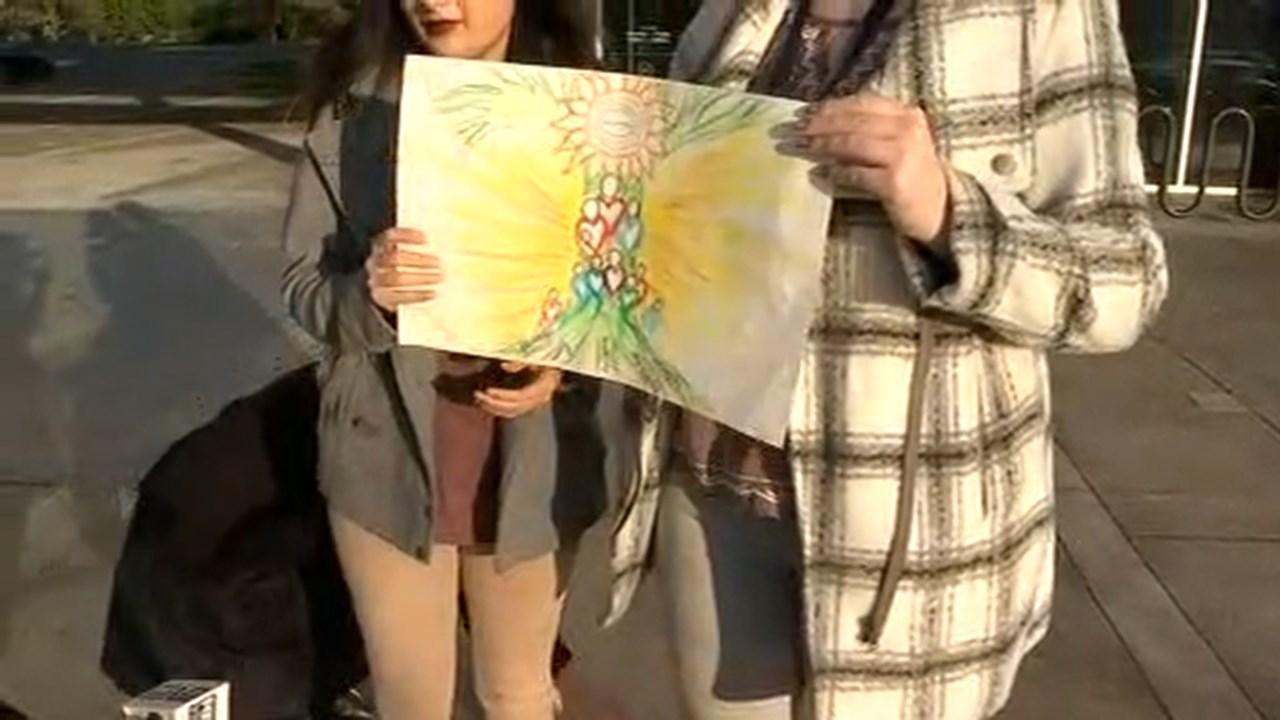 Drawing of the mural. (KPTV)