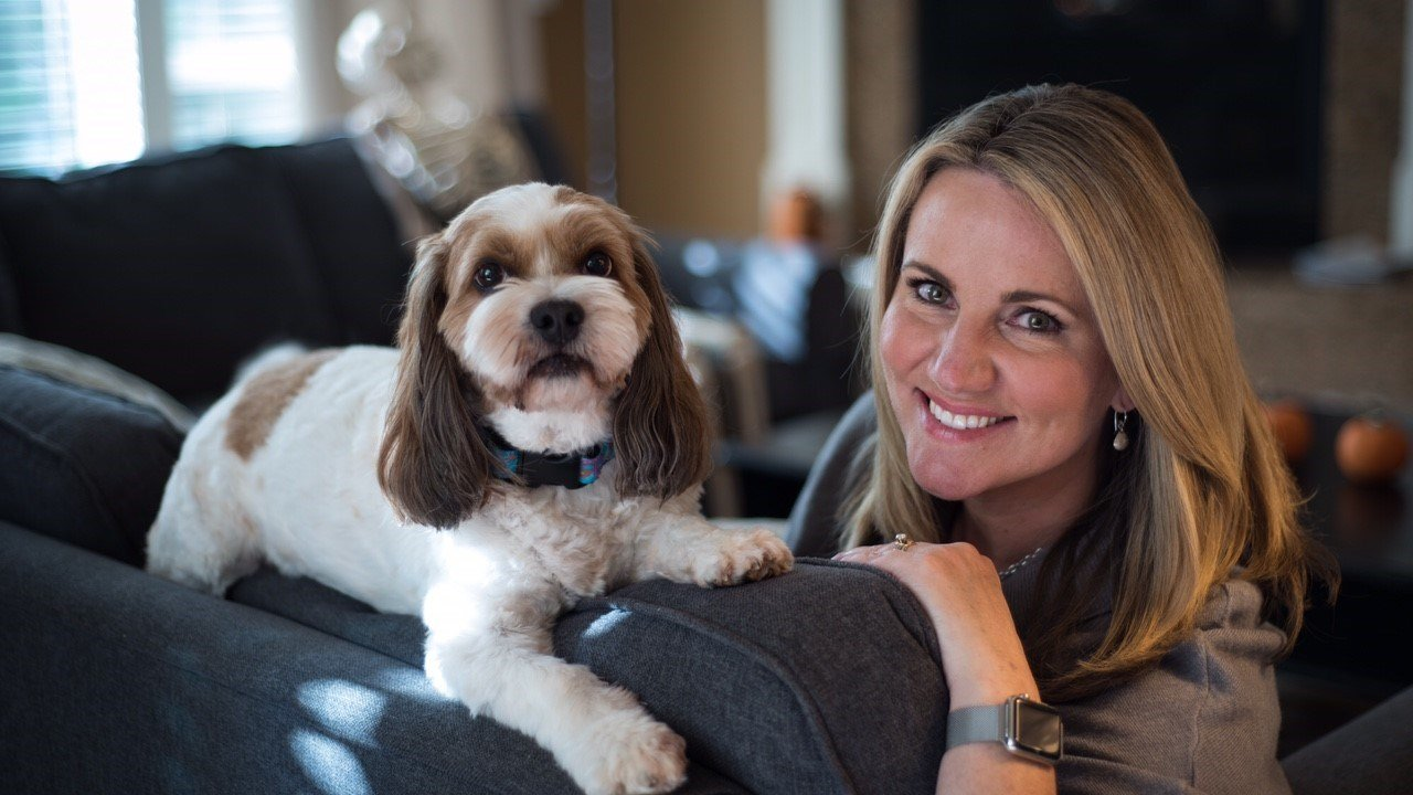 Shauna Parsons and her dog Coco