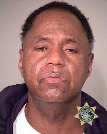Wilmer Wade booking photo (Multnomah Co. Jail)