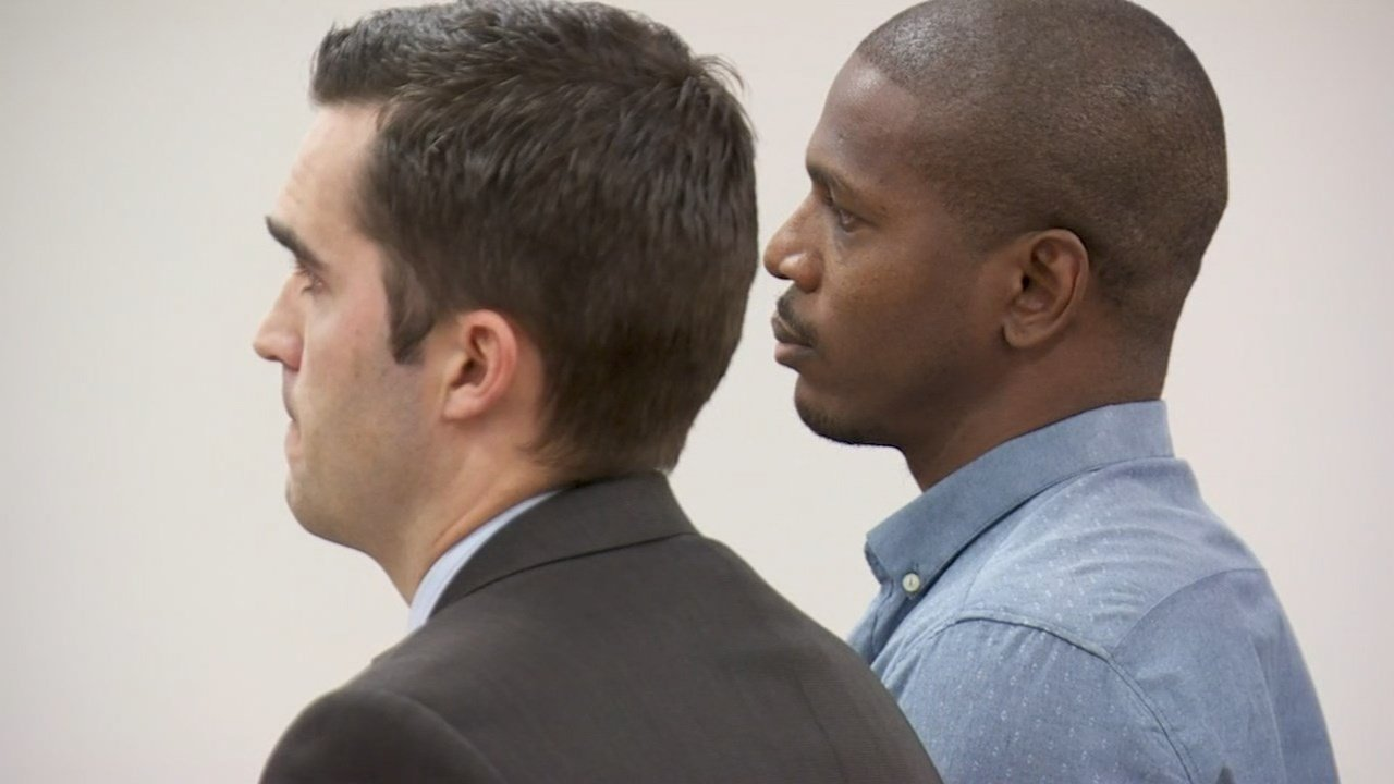 Ryan Mitchell (right) in court on Thursday. (KPTV)
