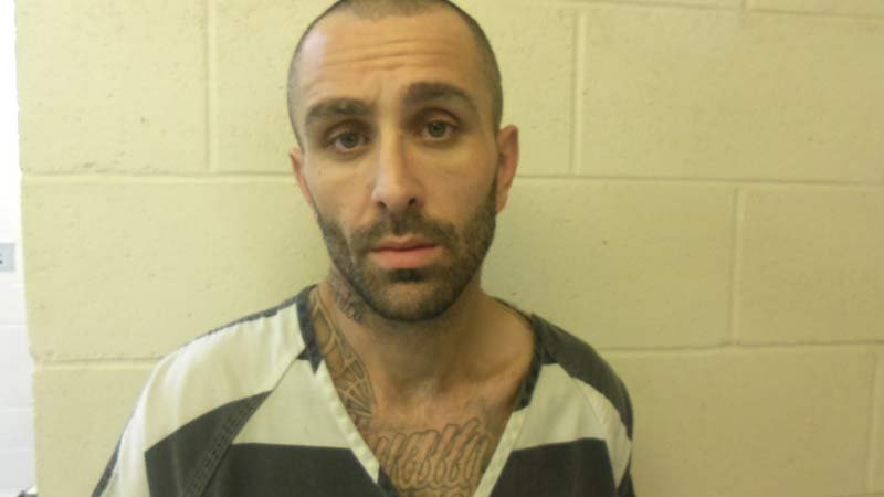 Jerry Boatman was arrested before a second suspect was caught hiding in a badger hole. (Jail booking photo/OSP)