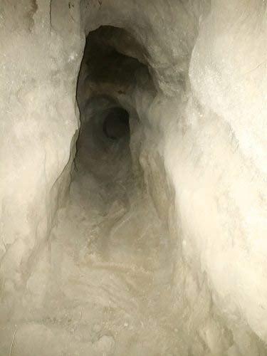 Photo of the badger hole. (Photo: Oregon State Police)