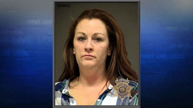Melissa Amy Higgins, jail booking photo