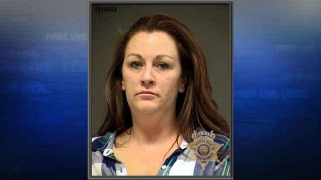 Melissa Amy Higgins, jail booking photo
