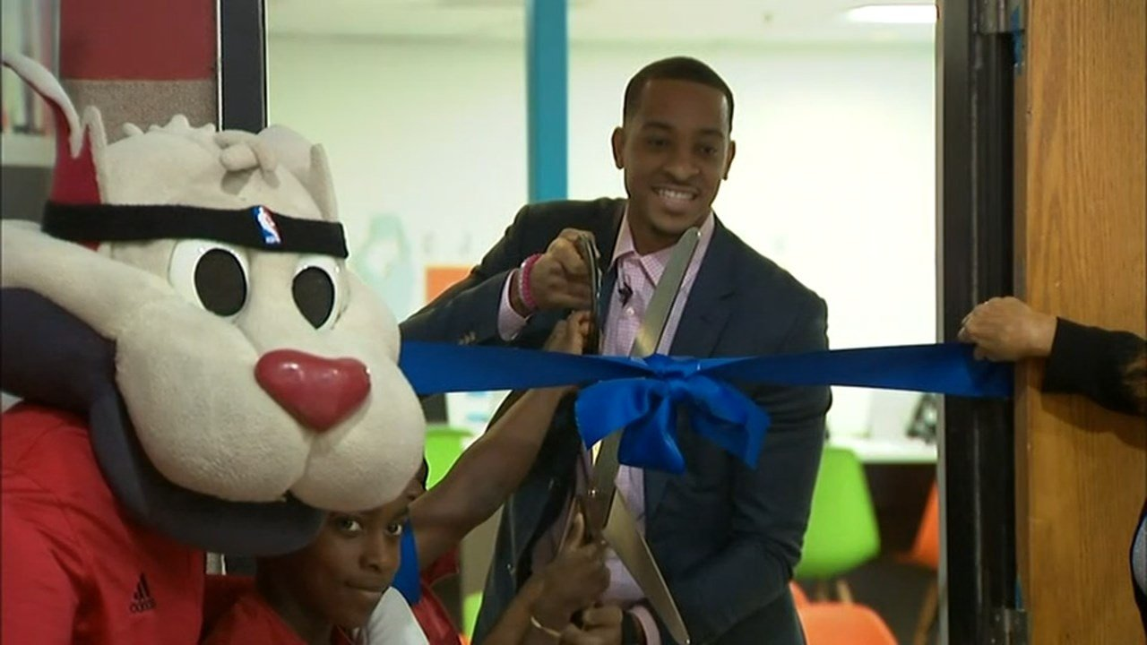 "Portland Trail Blazers guard CJ McCollum said the new ""Dream Center"" he opened with the Boys & Girls Club of Portland Monday would be the first of many in the community. (KPTV)"