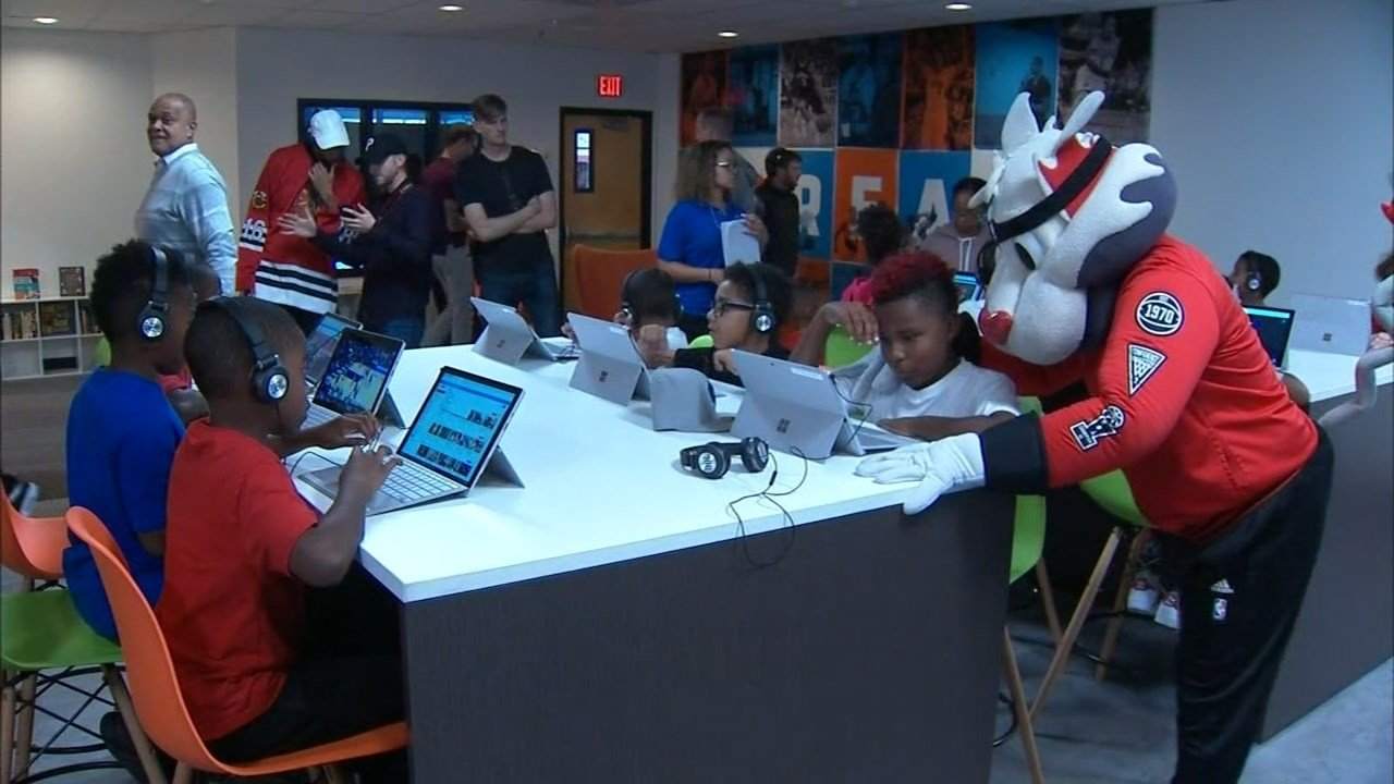 The new CJ McCollum Dream Center will include computers, books and other tools to maximize education for kids. (KPTV)