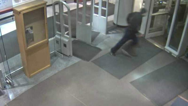 Surveillance image of assault suspect at PSU library. (Image: PSU Campus Public Safety Office)