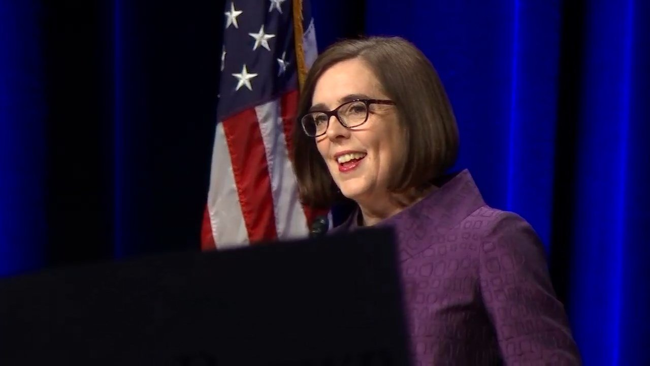 Oregon Gov. Kate Brown (KPTV)