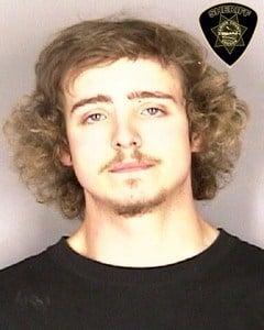 Triston Poteet, jail booking photo