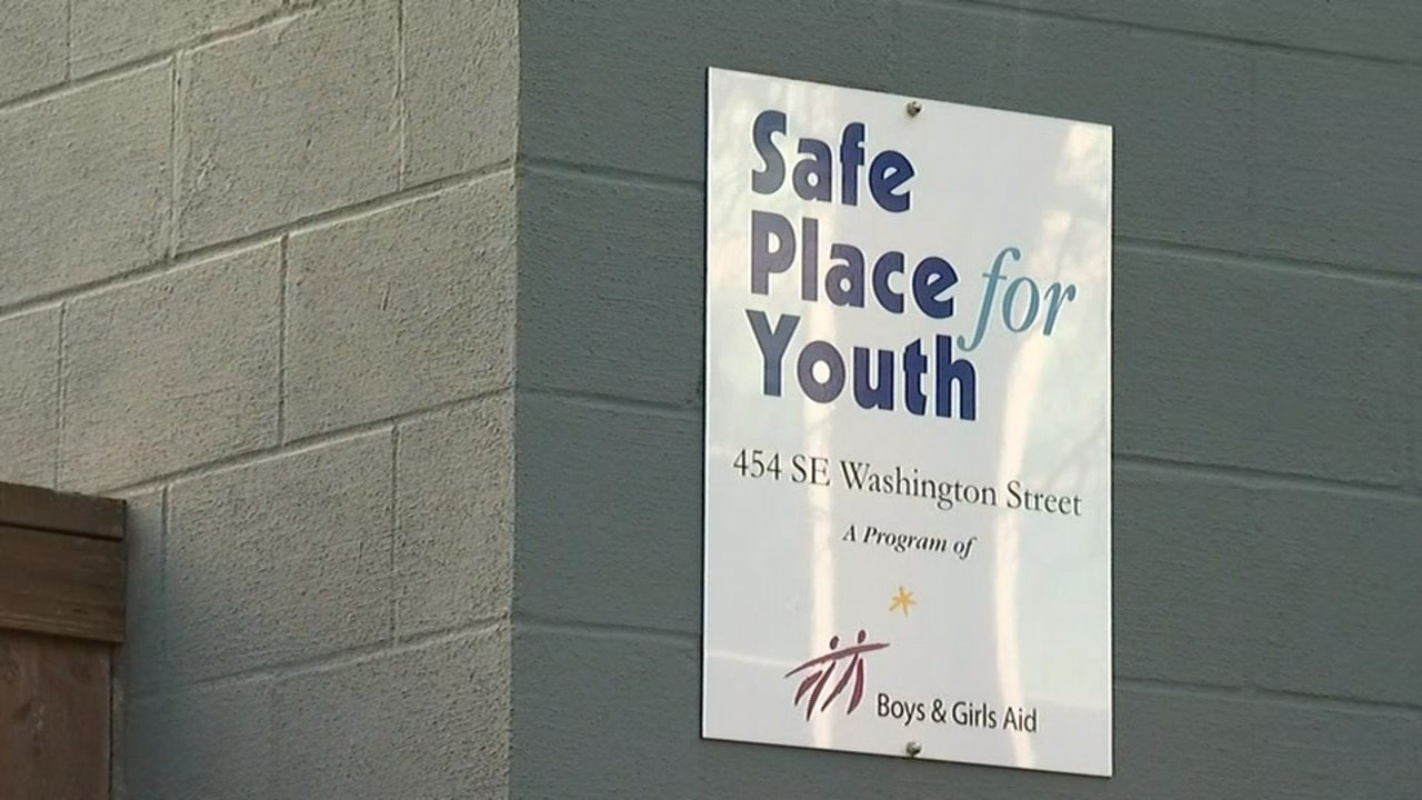 A worker at Safe Place for Youth was fired after facility officials received allegations she gave alcohol to a 17-year-old and had sex with him. (KPTV)