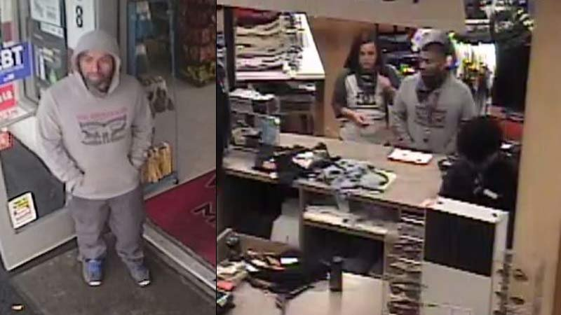 Surveillance images of theft suspect (Images: Woodburn PD)