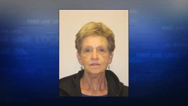 Linda Hald, jail booking photo