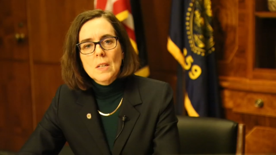 Gov. Kate Brown expresses anti-hate message in video (Courtesy: YouTube)