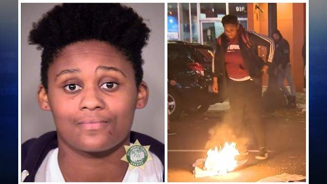 Damaree Mitchell, photos released by Portland Police Bureau
