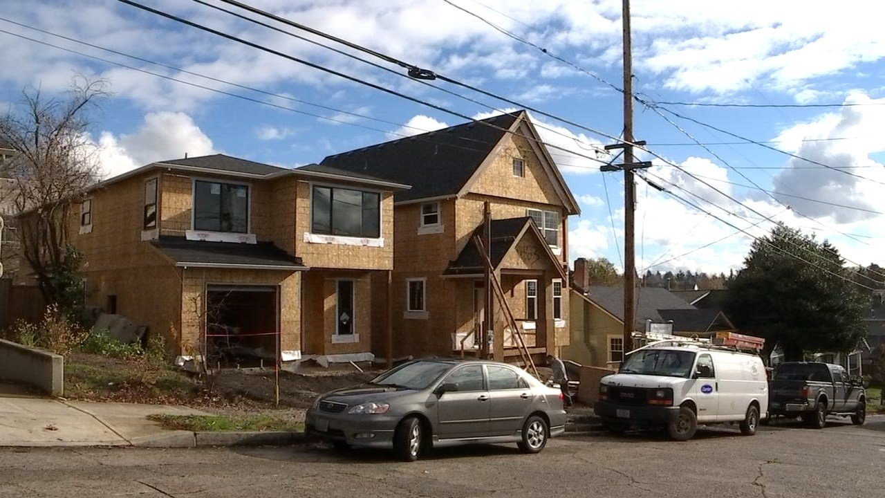 Builders in Portland may be facing new regulations that will force them to build new homes smaller but may open up locations for multi-unit houses.(KPTV)