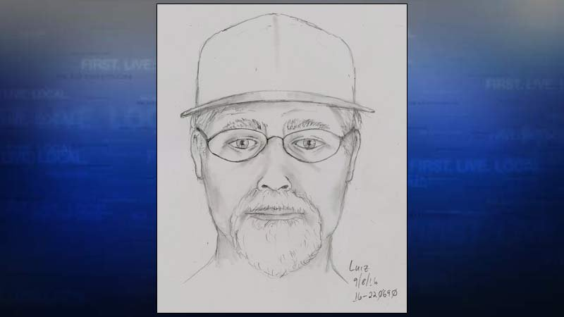 Suspect sketch of wanted prostitution suspect (Image: Portland Police Bureau)