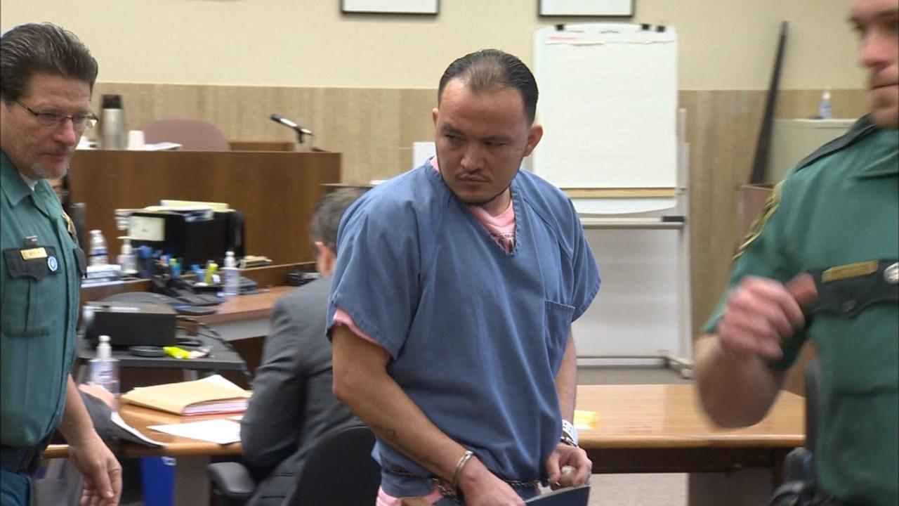 Francisco Gonzalez in court Wednesday. (KPTV)