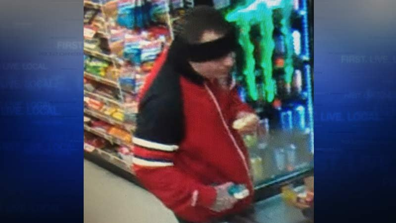 Surveillance image of carjacking suspect (Image: Portland Police Bureau)