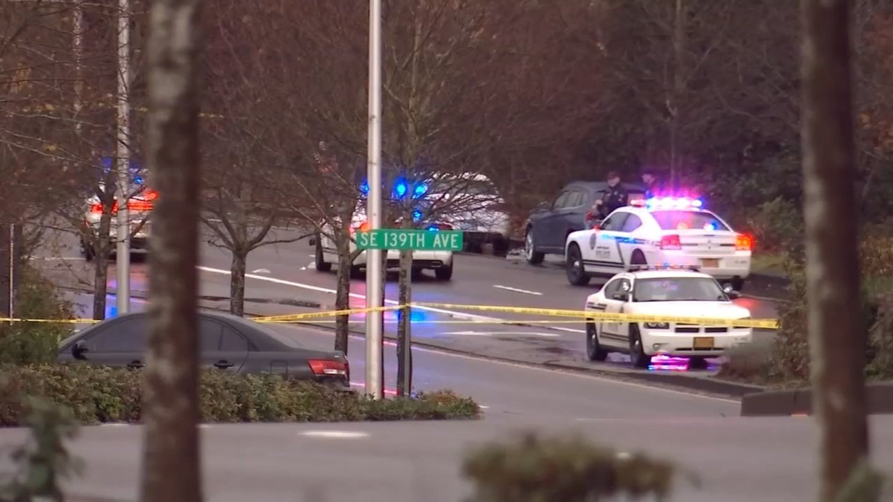 A deputy was shot in the area of Southeast 139th Avenue and Sunnyside Road on Tuesday morning. (KPTV)