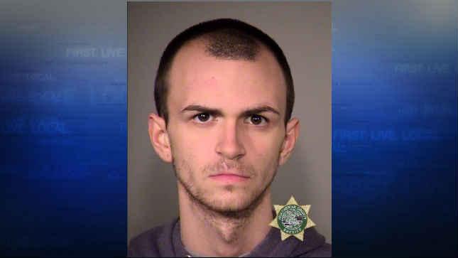 Gavin Hotchkiss, jail booking photo (Courtesy: Portland Police Bureau)