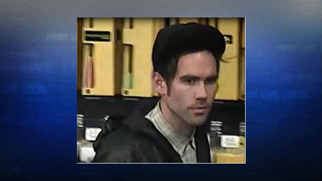 Surveillance image of the suspect (Courtesy: Tualatin Police Department)