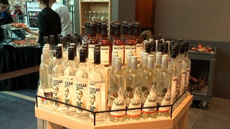 The tasting room will offer House Spirits' line of liquors for samples and purchase.