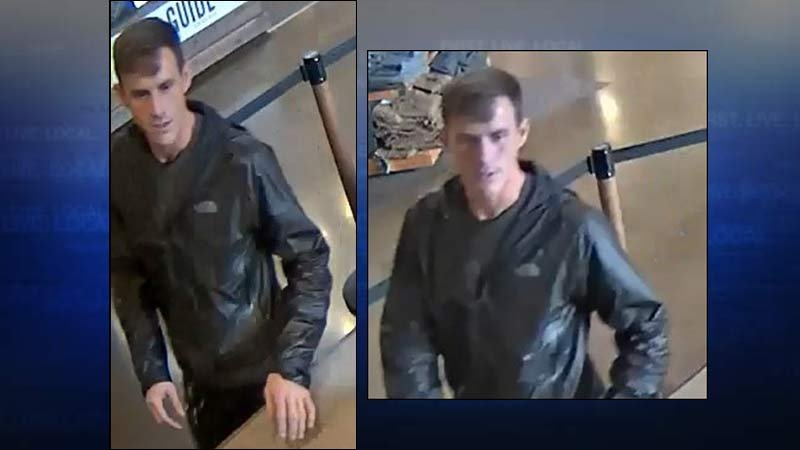 Cabela's theft suspect (Images released by Tualatin Police Department)
