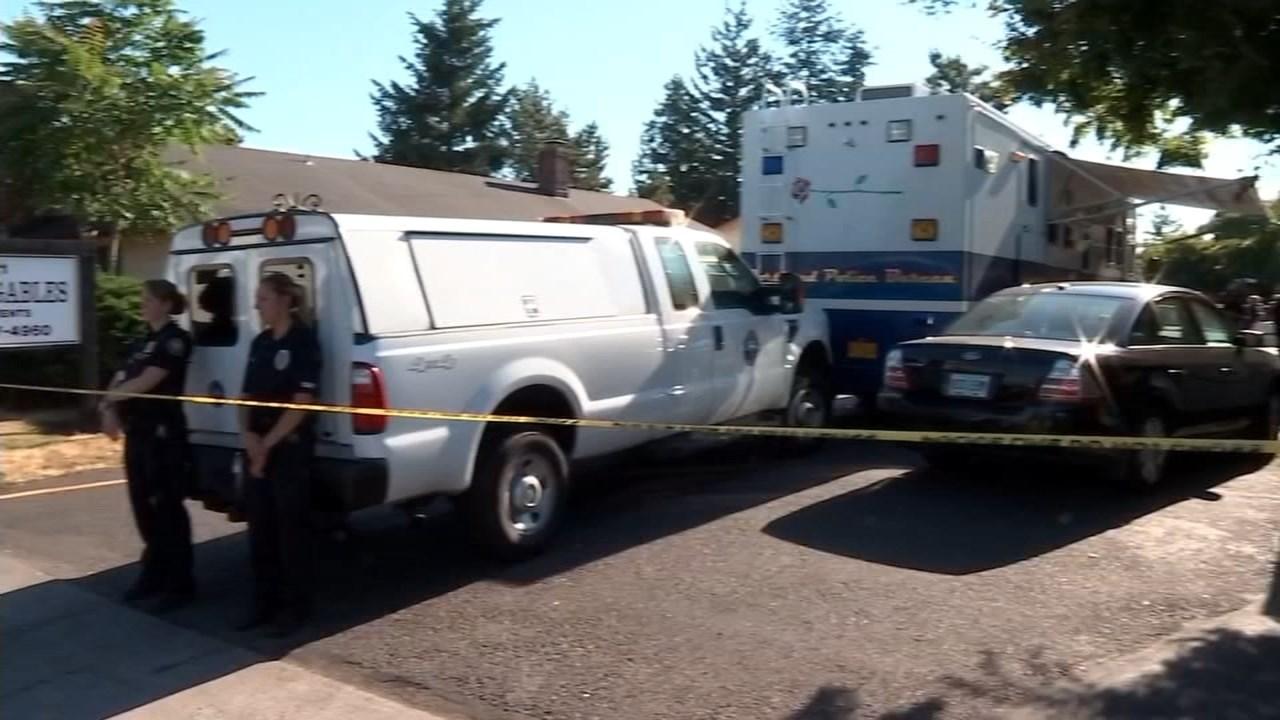 June 2015 deadly stabbing scene in southeast Portland. (KPTV file image)