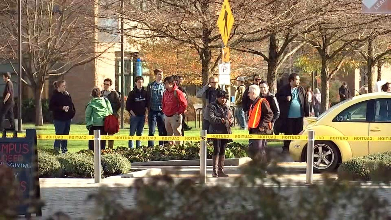 A bomb threat was called in at Portland Community College's Cascade Campus on Tuesday. (KPTV)