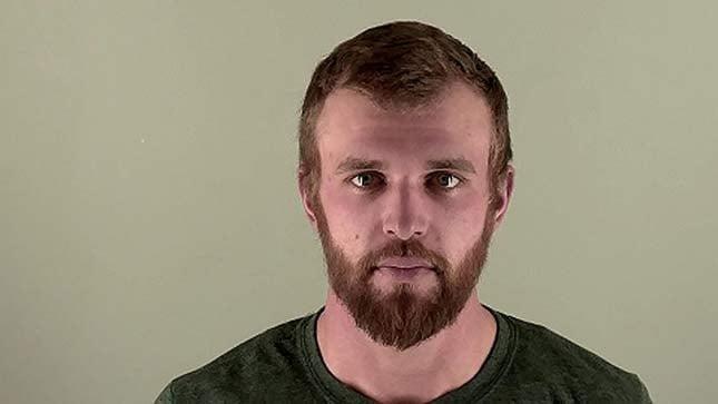 Brandon Kern, jail booking photo