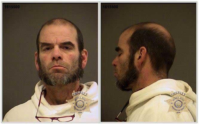 Mark Wayne Hunter, jail booking photos