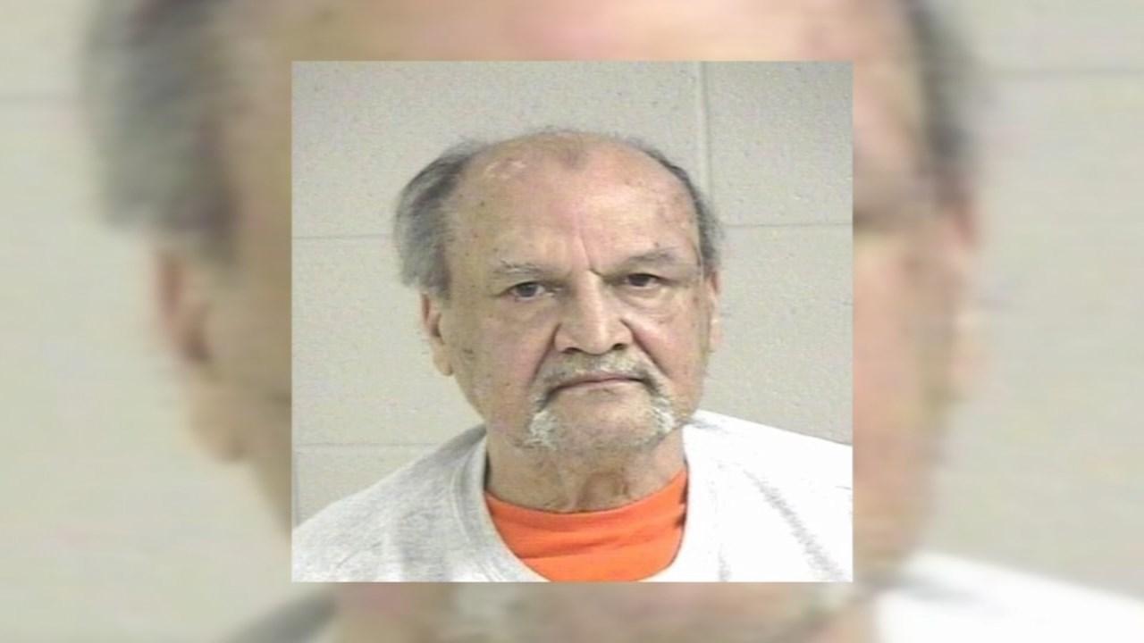 Robert Simms Goin, jail booking photo