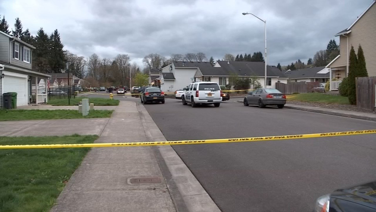 St. Helens shooting scene in March 2015. (KPTV file image)