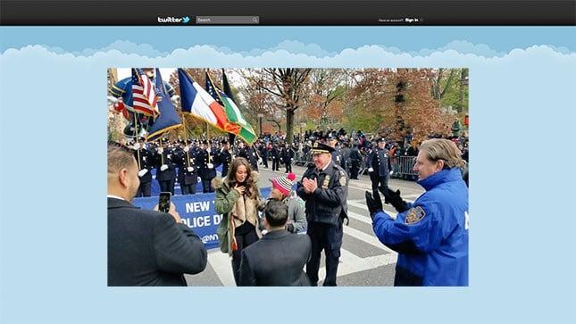 (Twitter: @NYPDnews)