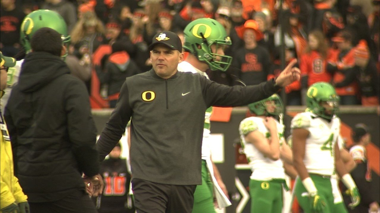 Former Oregon Ducks football coach Mark Helfrich (KPTV file image)